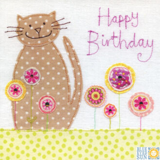 Birthday Cat Vintage